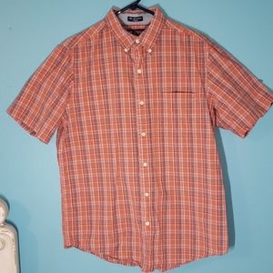 M chaps button down shirt
